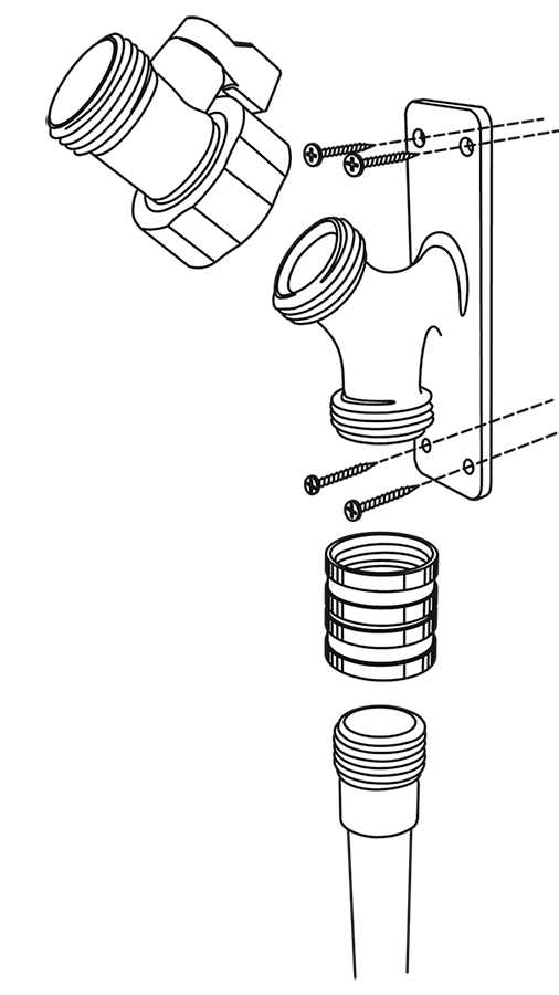 Water Wigot Exploded View